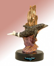 Baby Winter Dolphin Sculpture (Pink) - Dolphin Tale Movie